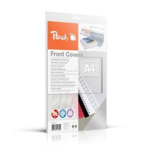 Peach  Klarsicht Einbanddeckel, farblos, 0.18mm, A4, 25 Blatt