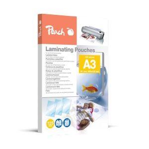 Peach  Laminierfolien A3, 125 mic, glänzend, PPR525-01, 25 Stk.