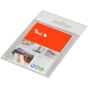 Peach  Laminierfolien für Kredit und Clubkarten, 125 mic, glänzend, PPR525-07, 25 Stück