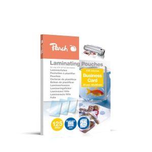 Peach  Laminierfolien Business Card, 125 mic, glänzend, PPR525-08, 25 Stk.