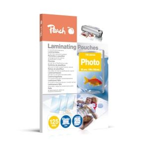 Peach  Laminierfolien Photo 106 x 156mm, 125 mic, glänzend, S-PP525-20, 25 Stk