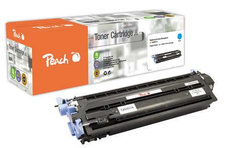 Peach  Tonermodul cyan kompatibel zu HP Color LaserJet 2600