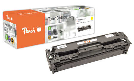 Peach  Tonermodul gelb kompatibel zu HP LaserJet Pro CP 1525