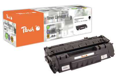Peach  Tonermodul schwarz kompatibel zu HP LaserJet P 2015