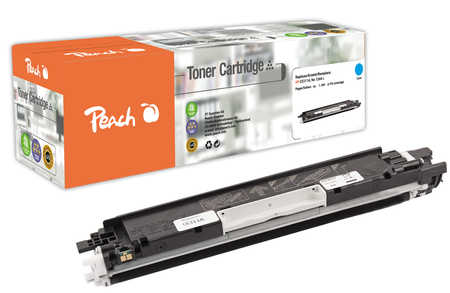 Peach  Tonermodul cyan, kompatibel zu HP LaserJet CP 1025 Color