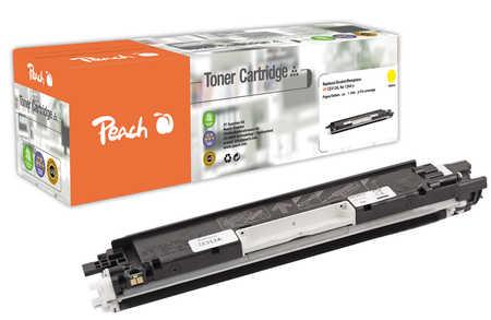 Peach  Tonermodul gelb, kompatibel zu HP LaserJet CP 1025 Color