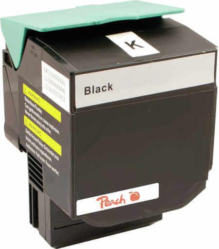 Peach  Tonermodul schwarz kompatibel zu Lexmark C 544 DN