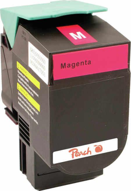 Peach  Tonermodul magenta kompatibel zu Lexmark C 544 DN