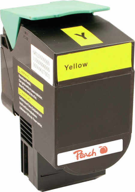 Peach  Tonermodul gelb kompatibel zu Lexmark C 544 DN