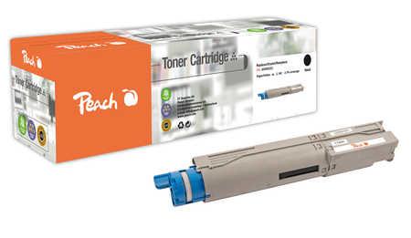 Peach  Tonermodul schwarz kompatibel zu OKI C 3300
