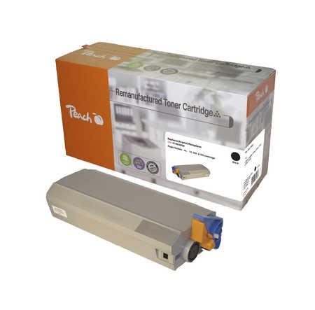 Peach  Tonermodul schwarz kompatibel zu OKI C 7100