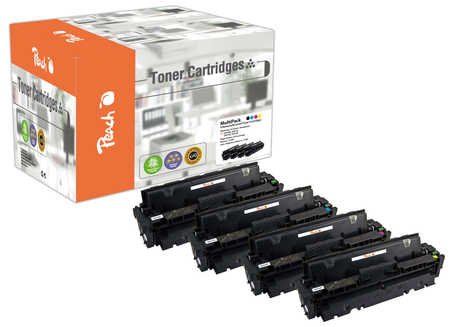 Peach  Spar Pack Tonermodule kompatibel zu HP Color LaserJet Pro M 252 n