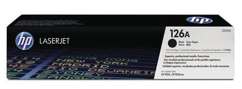Original  Tonerpatrone schwarz HP LaserJet CP 1025 Color