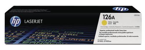 Original  Tonerpatrone gelb HP LaserJet CP 1025 Color