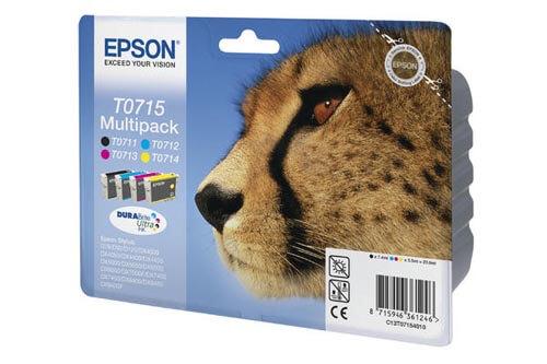 Original  Multipack Tinte schwarz, color, Epson Stylus Office BX 310 FN