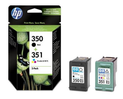 Original  Combopack Tinte bk, color HP OfficeJet J 5780