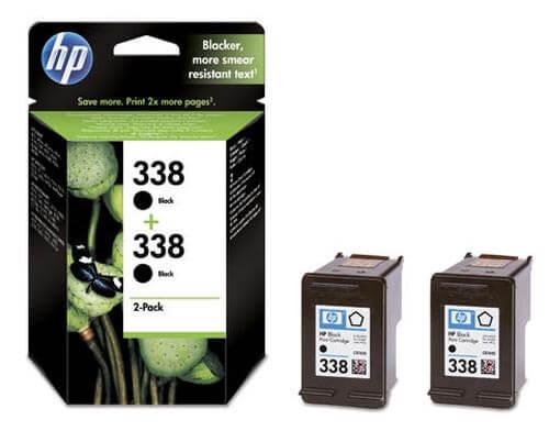 Original 2  Tintenpatronen schwarz, HP PSC 1510