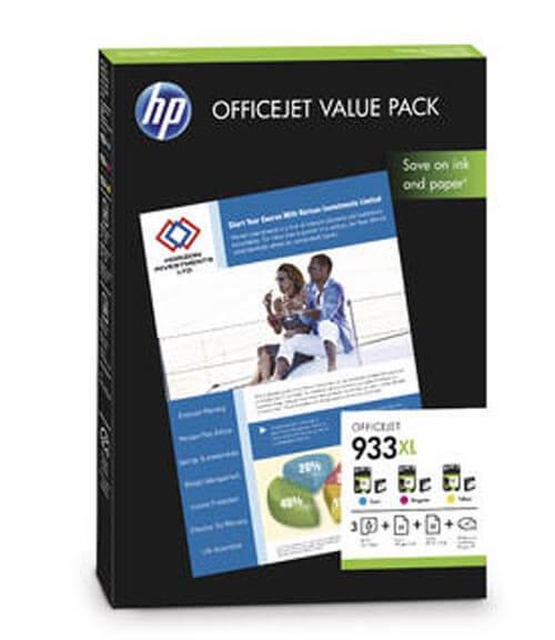 Original  Valuepack Tinte color, HP OfficeJet 6700 Premium