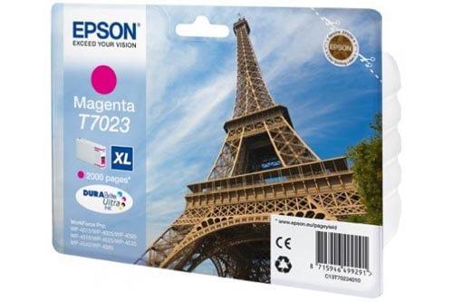 Original  Tintenpatrone XL magenta Epson WorkForce Pro WP-4095 DN