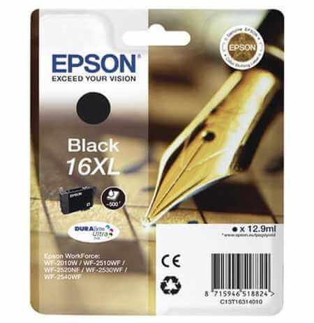 Original  Tintenpatrone XL schwarz Epson WorkForce WF-2530 WF