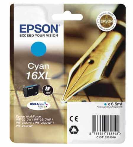 Original  Tintenpatrone XL cyan Epson WorkForce WF-2530 WF