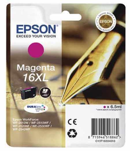 Original  Tintenpatrone XL magenta Epson WorkForce WF-2530 WF