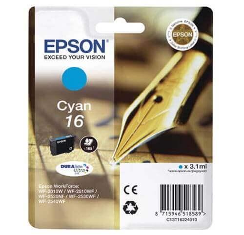 Original  Tintenpatrone cyan Epson WorkForce WF-2530 WF