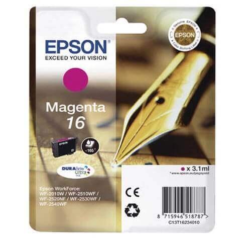 Original  Tintenpatrone magenta Epson WorkForce WF-2530 WF