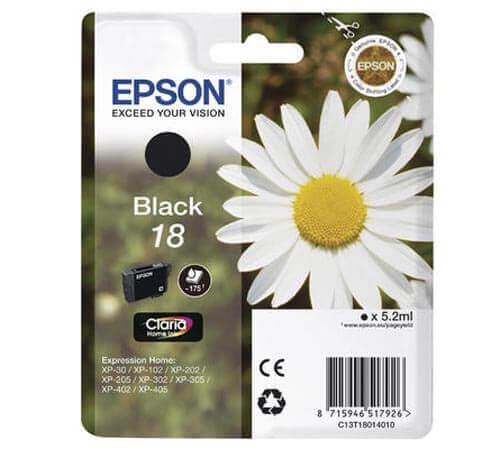 Original  Tintenpatrone schwarz Epson Expression Home XP-302