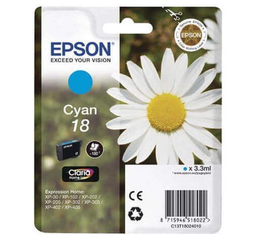 Original  Tintenpatrone cyan Epson Expression Home XP-302
