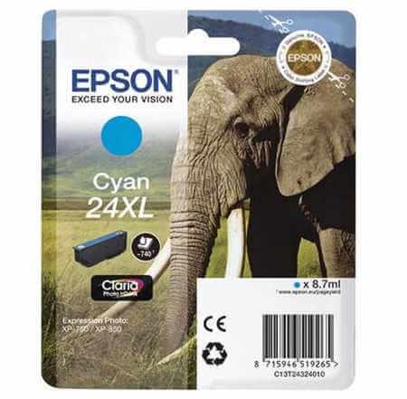 Original  Tintenpatrone XL cyan Epson Expression Photo XP-950