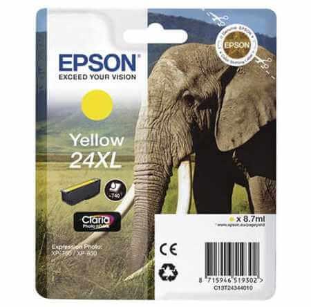 Original  Tintenpatrone XL gelb Epson Expression Photo XP-950