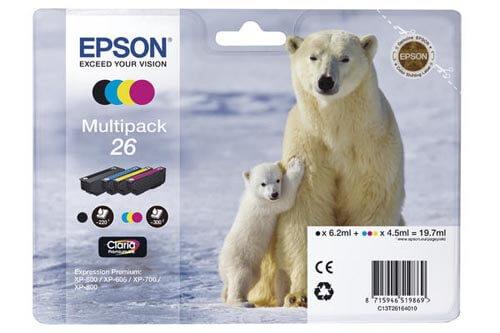 Original  Multipack Tinte PBKCMY Epson Expression Premium XP-700