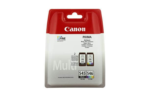 Original  Mulitpack Tinte schwarz/color Canon Pixma MG 2455