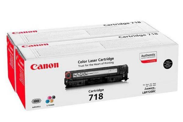 Original  Tonerpatronen Twinpack XL schwarz Canon ISensys LBP-7200 cdn