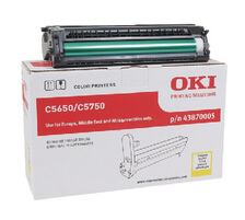 Original  Drum Unit, gelb OKI C 5650 N