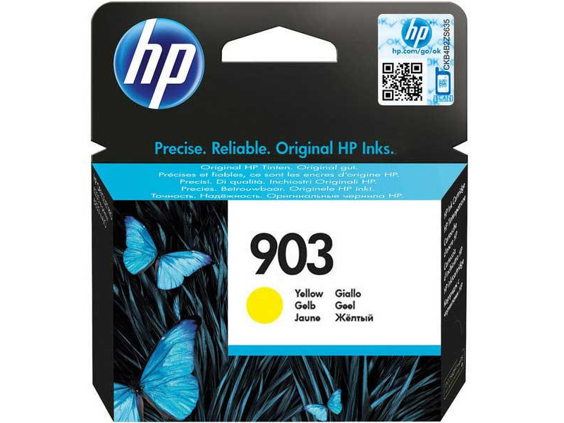 Original  Tintenpatrone gelb HP OfficeJet Pro 6975