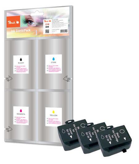 Peach 3  Tintenpatronen schwarz kompatibel zu Apple Color Stylewriter 2200