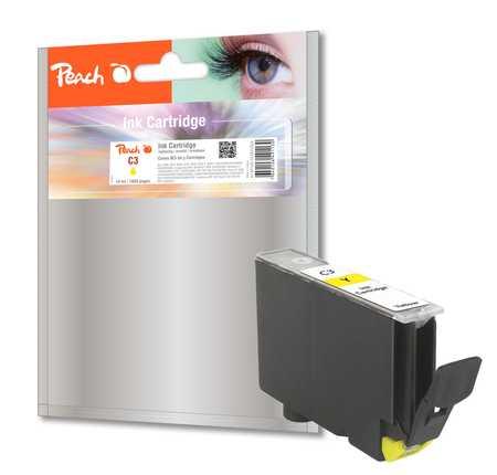 Peach  Tintenpatrone gelb kompatibel zu Canon BJC 8200