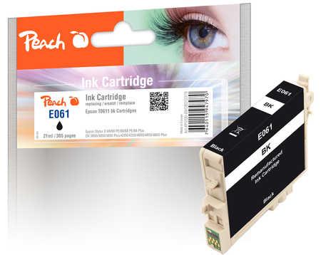 Peach  Tintenpatrone schwarz kompatibel zu Epson Stylus DX 4850