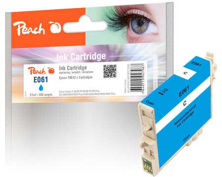 Peach  Tintenpatrone cyan kompatibel zu Epson Stylus DX 4850