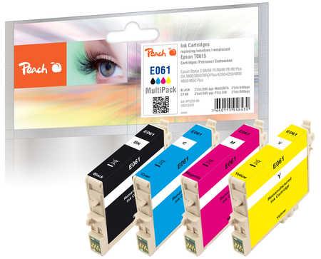Peach  Spar Pack Tintenpatronen kompatibel zu Epson Stylus DX 4850