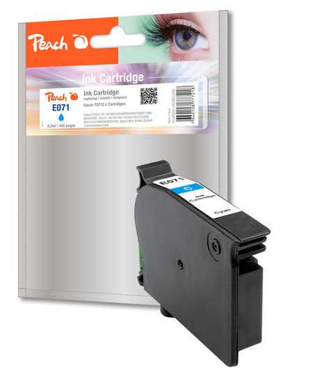 Peach  Tintenpatrone cyan kompatibel zu Epson Stylus Office BX 310 FN