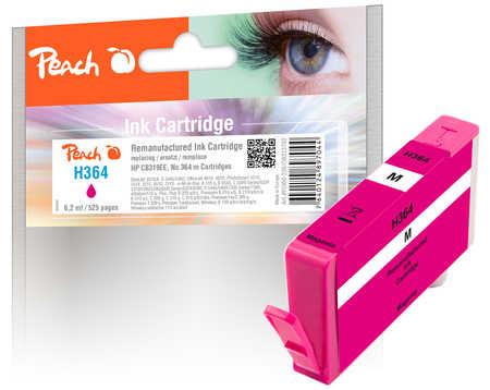Peach  Tintenpatrone magenta kompatibel zu HP PhotoSmart Premium C 410 Series