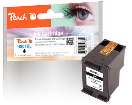 Peach  Druckkopf schwarz kompatibel zu HP OfficeJet J 4540