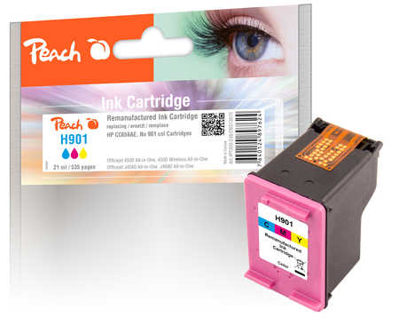 Peach  Druckkopf color kompatibel zu HP OfficeJet J 4540