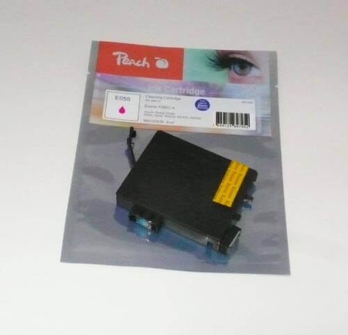 Peach  Reinigungspatrone, magenta, kompatibel zu Epson Stylus Photo RX 420