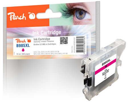 Peach  Tintenpatrone magenta kompatibel zu Brother DCPJ 125
