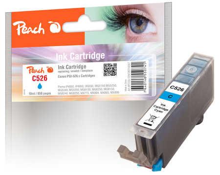 Peach  XL-Tintenpatrone cyan kompatibel zu Canon Pixma MG 5150