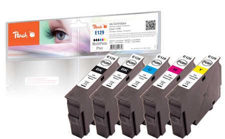 Peach  Spar Pack Plus Tintenpatronen kompatibel zu Epson Stylus SX 420 W